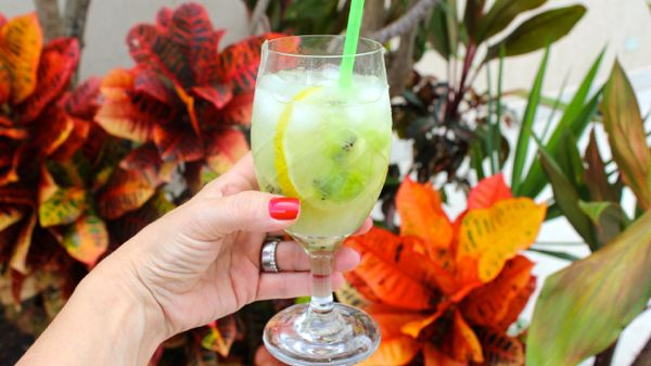 Hoje pode, as vezes a sexta feira até pede, uma bebida para comemorar o final da semana e a entrada do fim de semana! Bebidinha de kiwi com limão e soda é uma prima irmã da caipirinha, só que mais leve! A receita é da minha irmã Simone, a barwoman oficial da minha família! Vale …