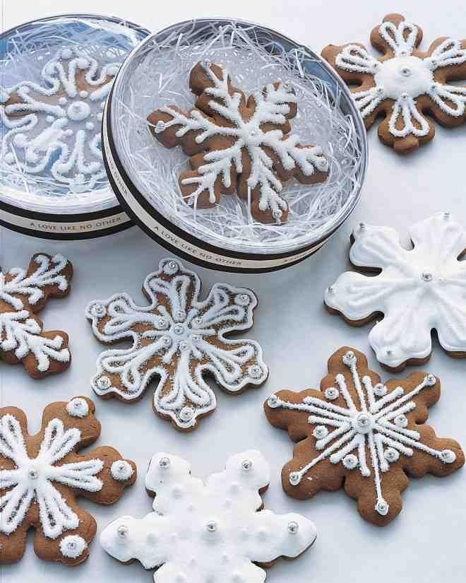 Snowflake Cookie Favors
