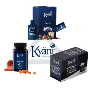 Kyäni SunriseTM is a delicious food supplements supplied in a liquid Form it comprises concentrates and extracts from the selected berries and the fruits and added vitamins Kyäni NitroFXTM is a liquid food supplements with the juice of Morinda citrifolia (Nonipflanze), the, we believe that the best-tasting Noni products on the market is: Kyäni SunsetTM azeichnet with its soft, gelatine capsules with Gold Tocotrienol oil from the tropics and its natural fish oil.