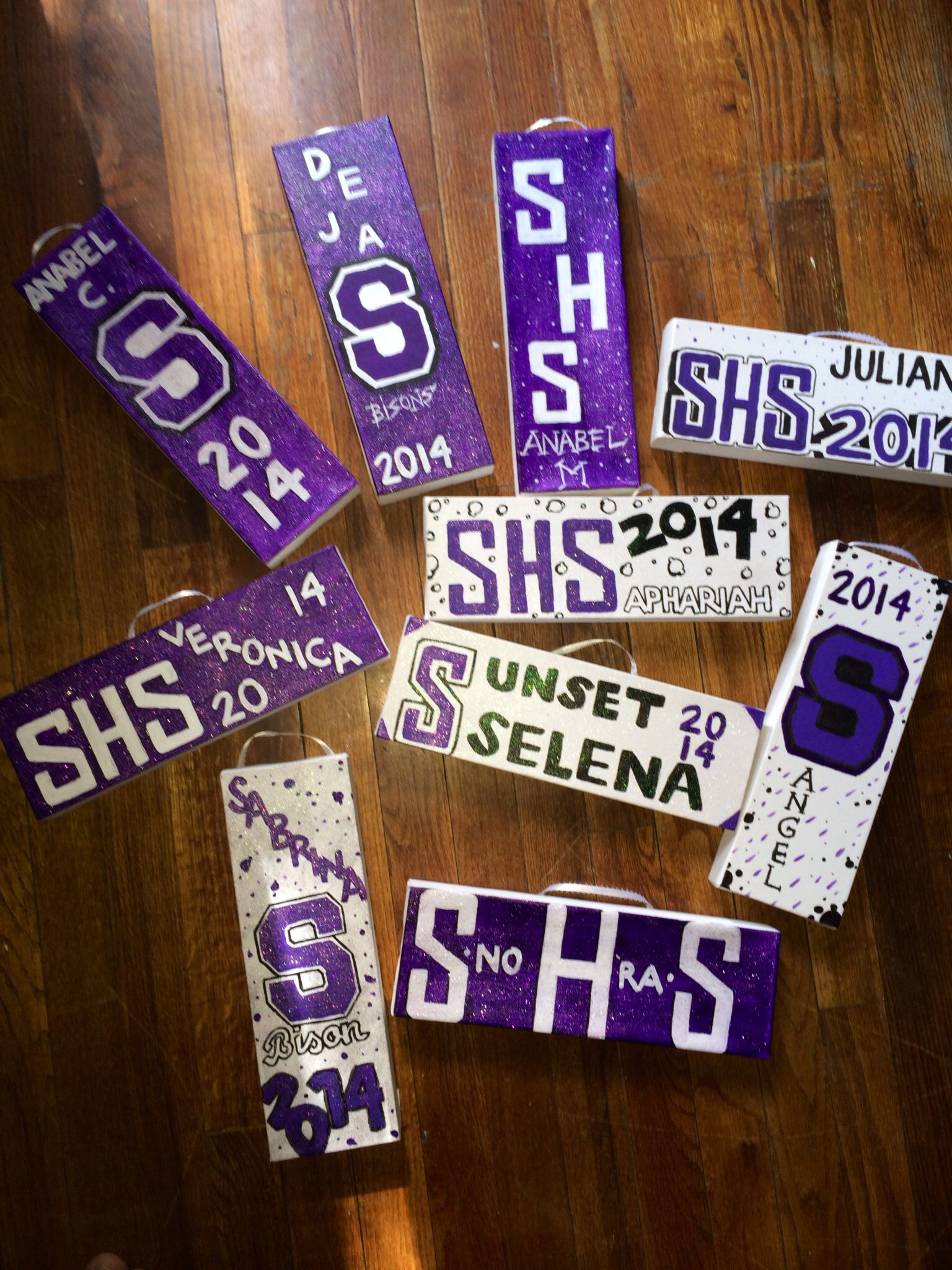Cheerleader senior gifts personalized name canvas