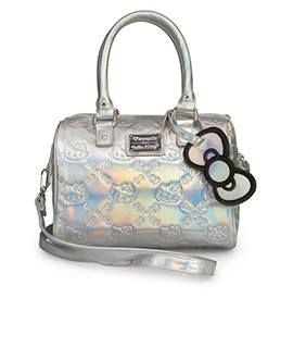 Loungefly s Hello Kitty Iridescent Purse  54121ec0b4fb5