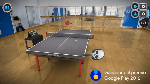 Table Tennis Touch Android es parte de la tradición de los videojuegos. Desde ayudar a popularizar los juegos de ping pong del año 1972.