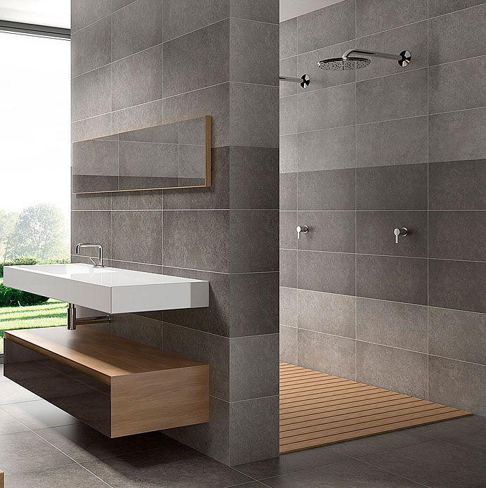 metro gris tiles | Pamesa Basic Ceniza Tiles | Home ideas | Pinterest