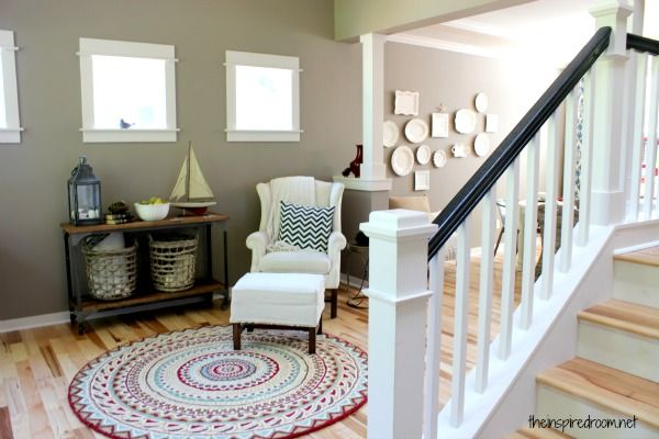 Creating a Home That Works for Your Family {Living Room Makeover
