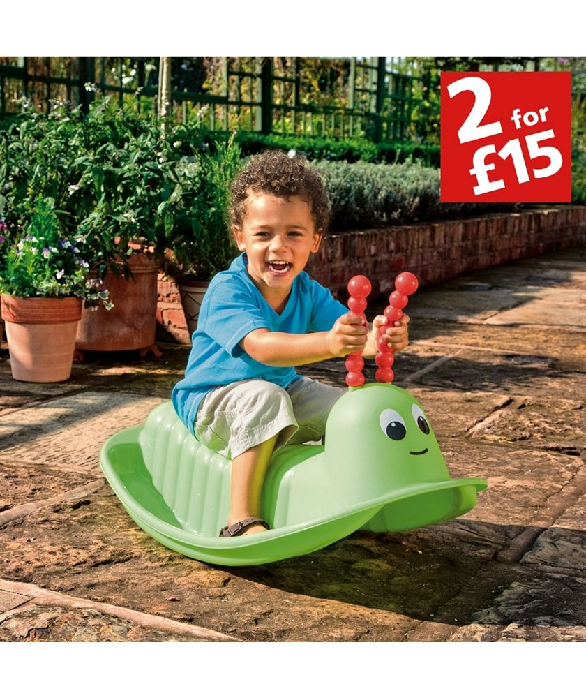 Dolls house at argos co uk your online shop for dolls houses dolls - Buy Chad Valley Rocking Caterpillar At Argos Co Uk Your Online Shop For