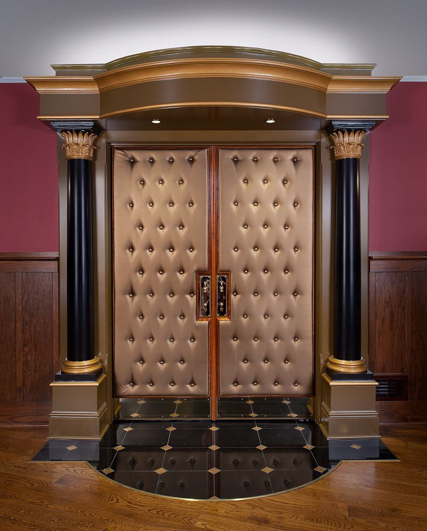 Home Theater Entrance In Pittsburgh By Master Remodelers
