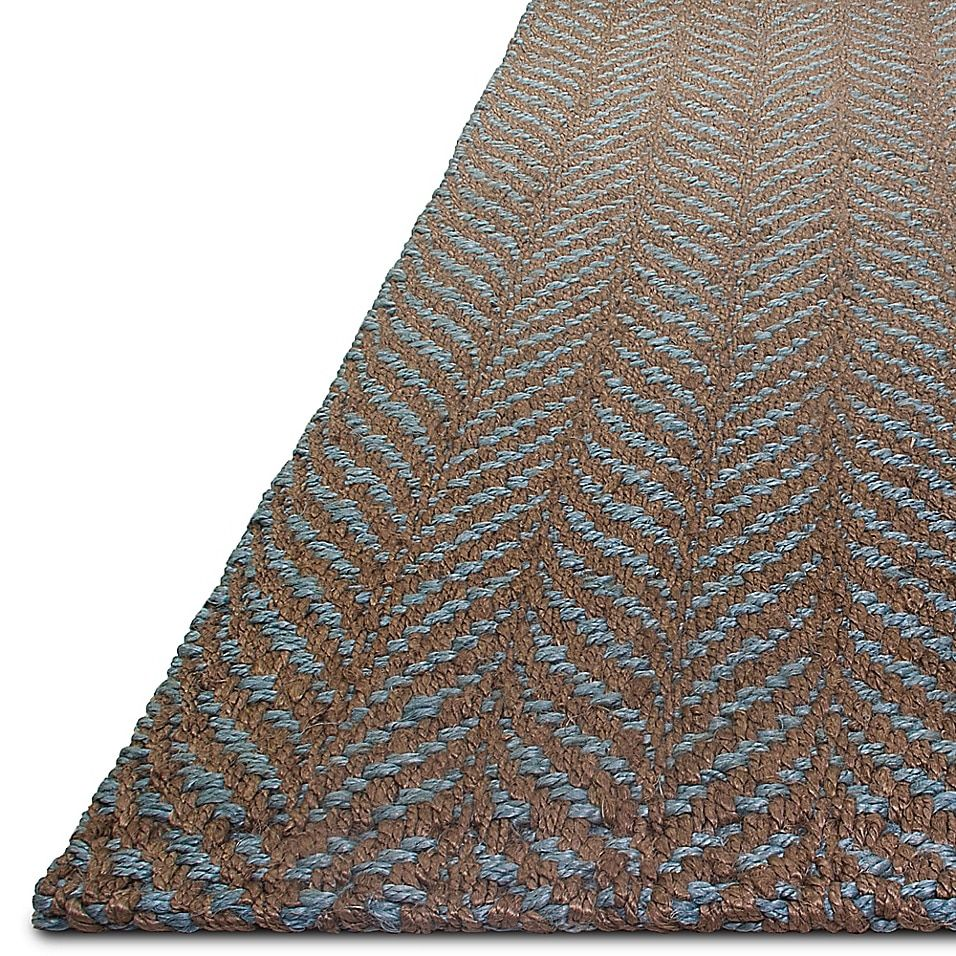 Fab Habitat Acadia 8' X 10' Handwoven  Area Rug In Brown - Handcrafted in India by local artisans, the Fab Habitat Acadia Rug offers a warm, welcoming feel to your home. Made from recycled jute, and organically dyed, this durable, handwoven rug is suitable for most decór styles.