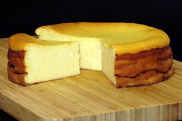 Photo of Saftiger Käsekuchen ohne Boden von chefkoch | Chefkoch