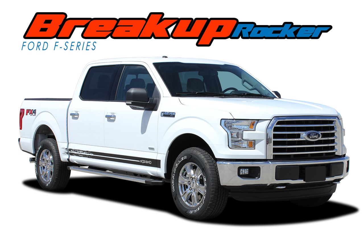 2015 2016 2017 2018 ford f 150 rocker panel stripes vinyl graphics kit model specific car truck vinyl graphics racing stripes rally hood decals 3m 1080