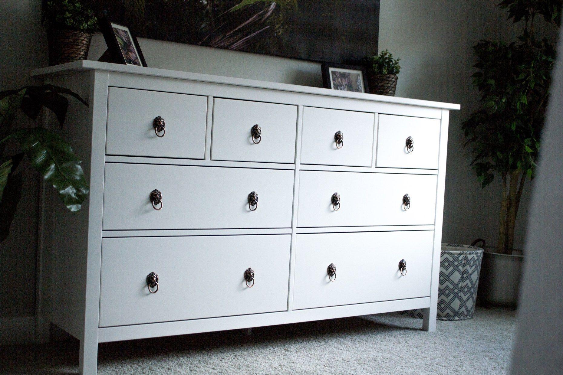 Easy IKEA Hemnes dresser update   Home decor   Pinterest   HEMNES ...