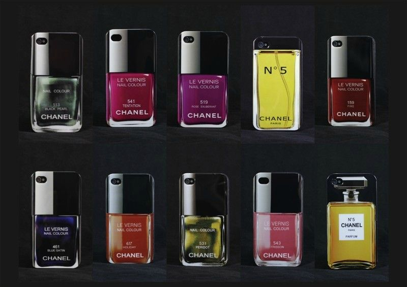 Chanel No 5 perfume & nail varnish case for iphone 5   Style/Hijab ...