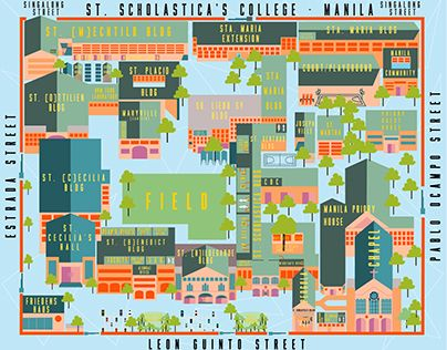 Pin by levi on folio | Campus map, College, Map