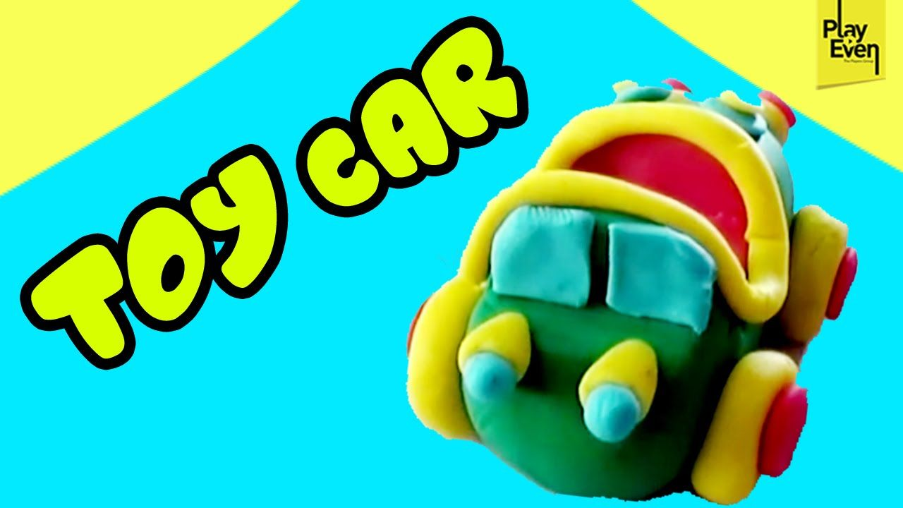 Kids Toy Car Making With Clay Modeling Kids Clay Projects Clay