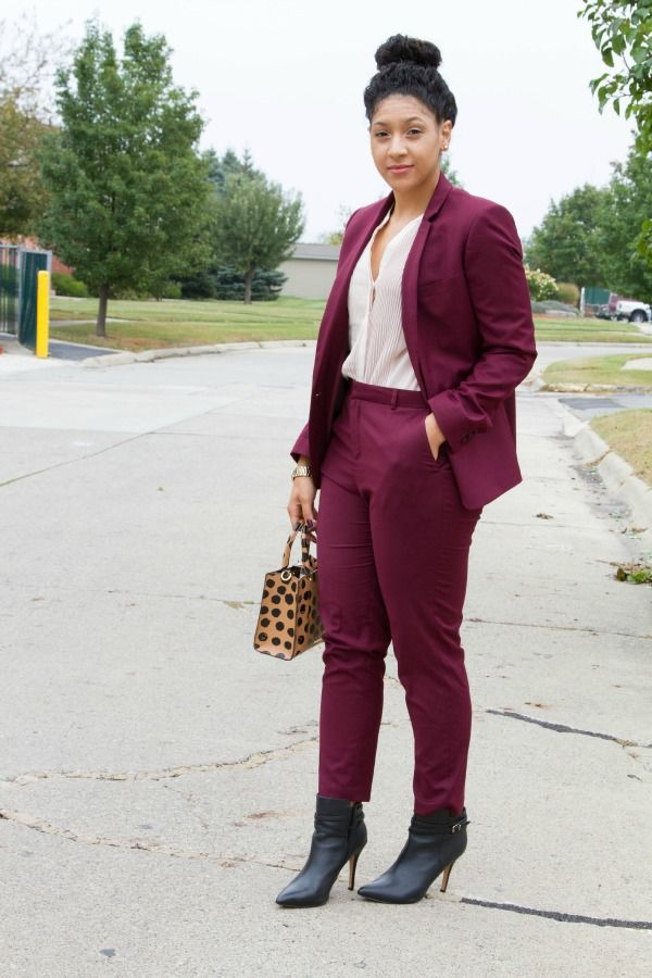 Color Blocking tips for Fall via Lil Miss JB Style