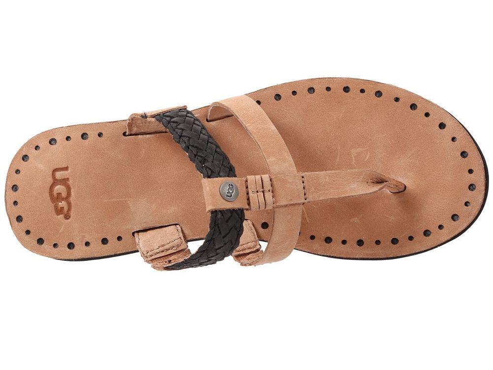 69a340ea1af NEW UGG Audra Black Sandal Flip Flop - Size 8 #UGGAustralia ...