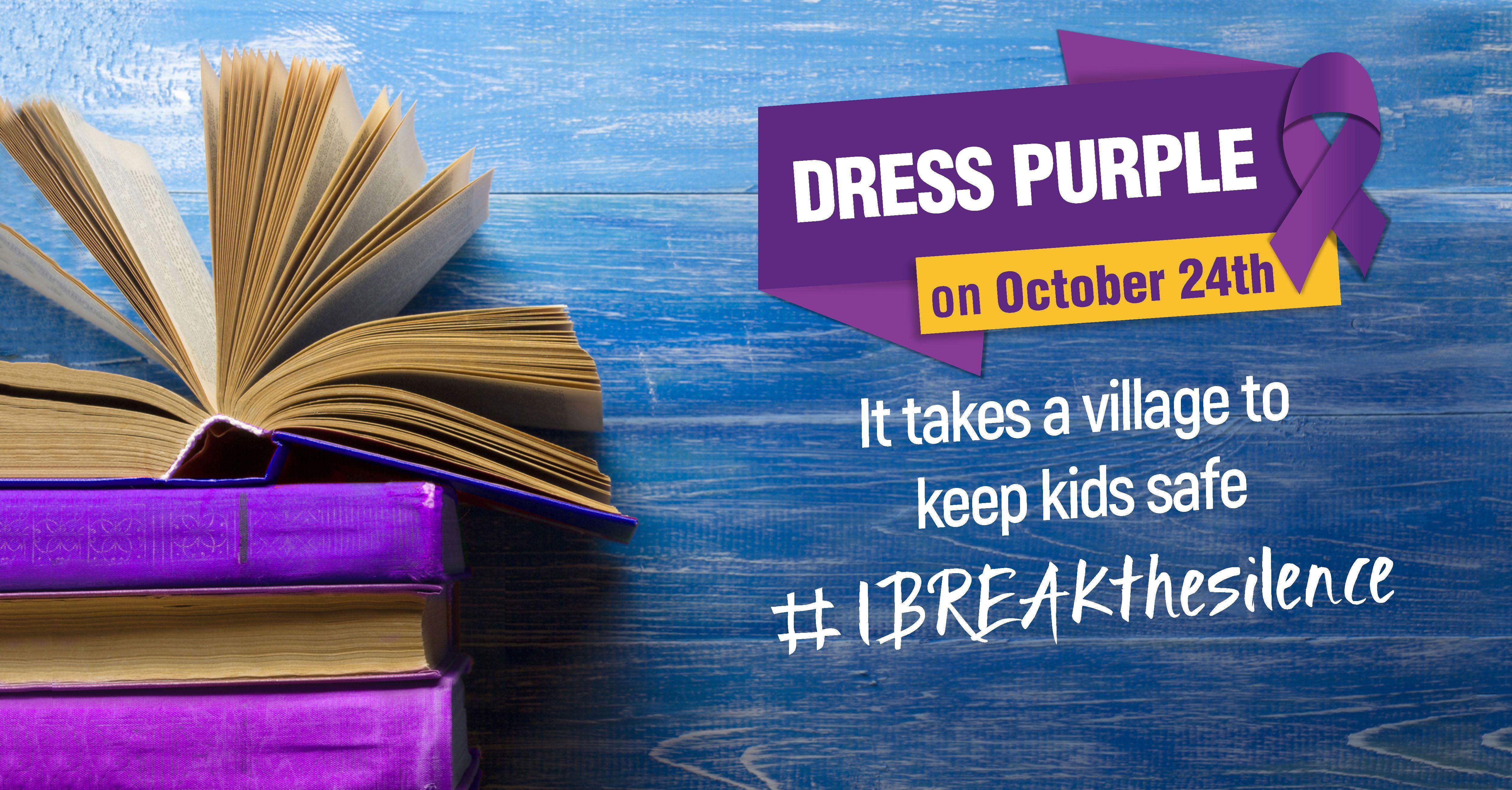 Dress Purple Day Campaign | TEACHER RESOURCES | Pinterest | Child ...