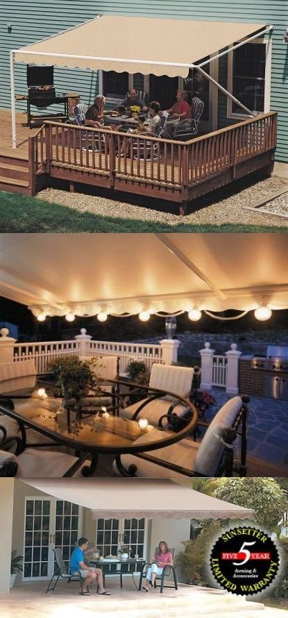 10FT SunSetter Sand 900XT Retractable Awning Awning Cover ...