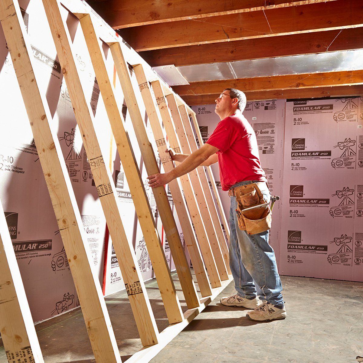 framing basement walls framing basement walls basement on wall frames id=16061