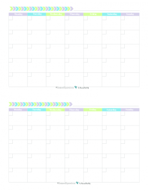 Personal Planner  Free Printables  Free Printable Monthly