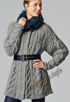 вязаные пальто 2016 - Поиск в Google