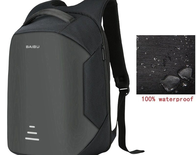 e063df4ede5f Free shipping BAIBU New men 15.6 Laptop Backpack Anti Theft Backpack Usb  Charging Women School Notebook Bag Oxford Waterproof Travel Backpack  phone