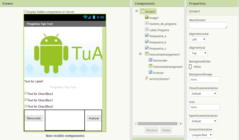 Pin en Android apps