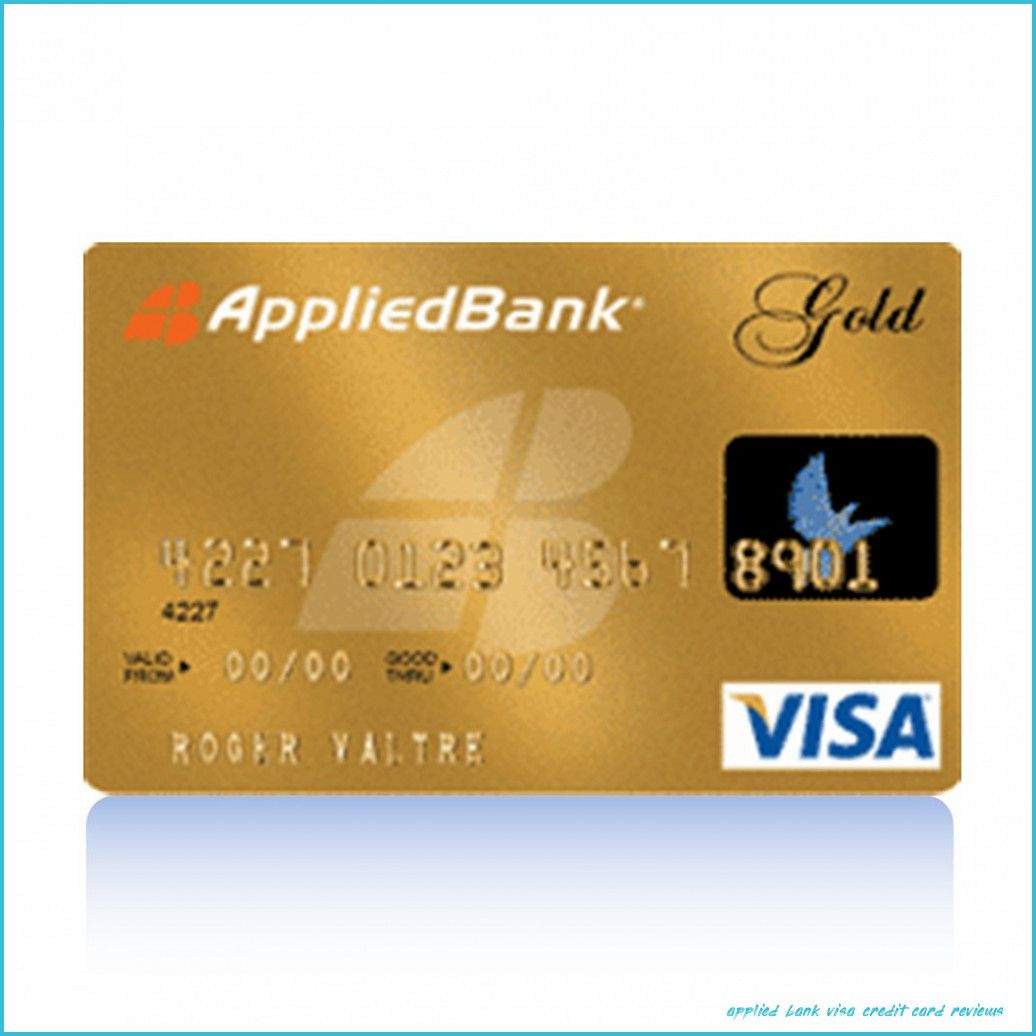 Top Five Trends In Applied Bank Visa Credit Card Reviews To Watch