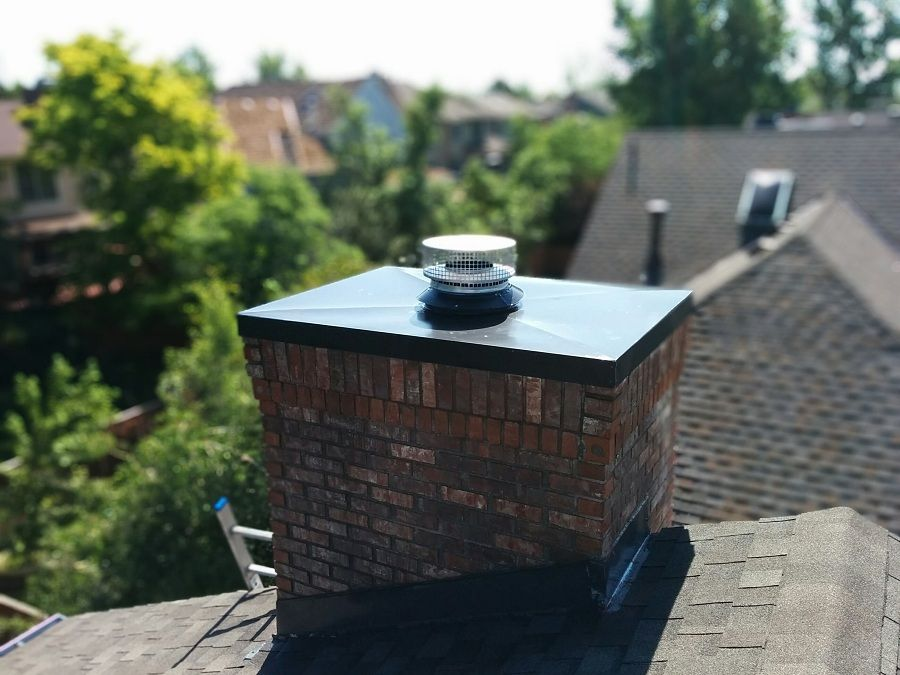 Installing Chimney Vent Cover Installation Vent Covers Chimney Cap