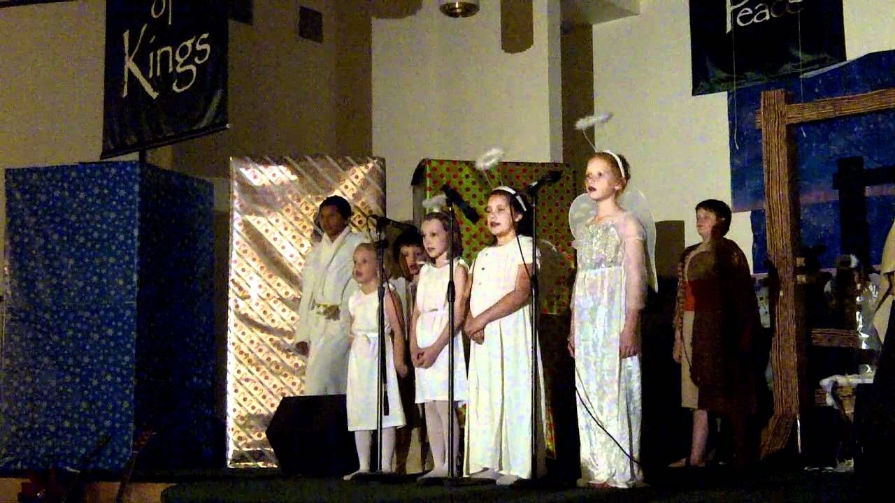 Kid's Church Christmas Program perform It's Christmas Day