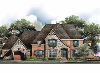 French Country Home Plan with Options