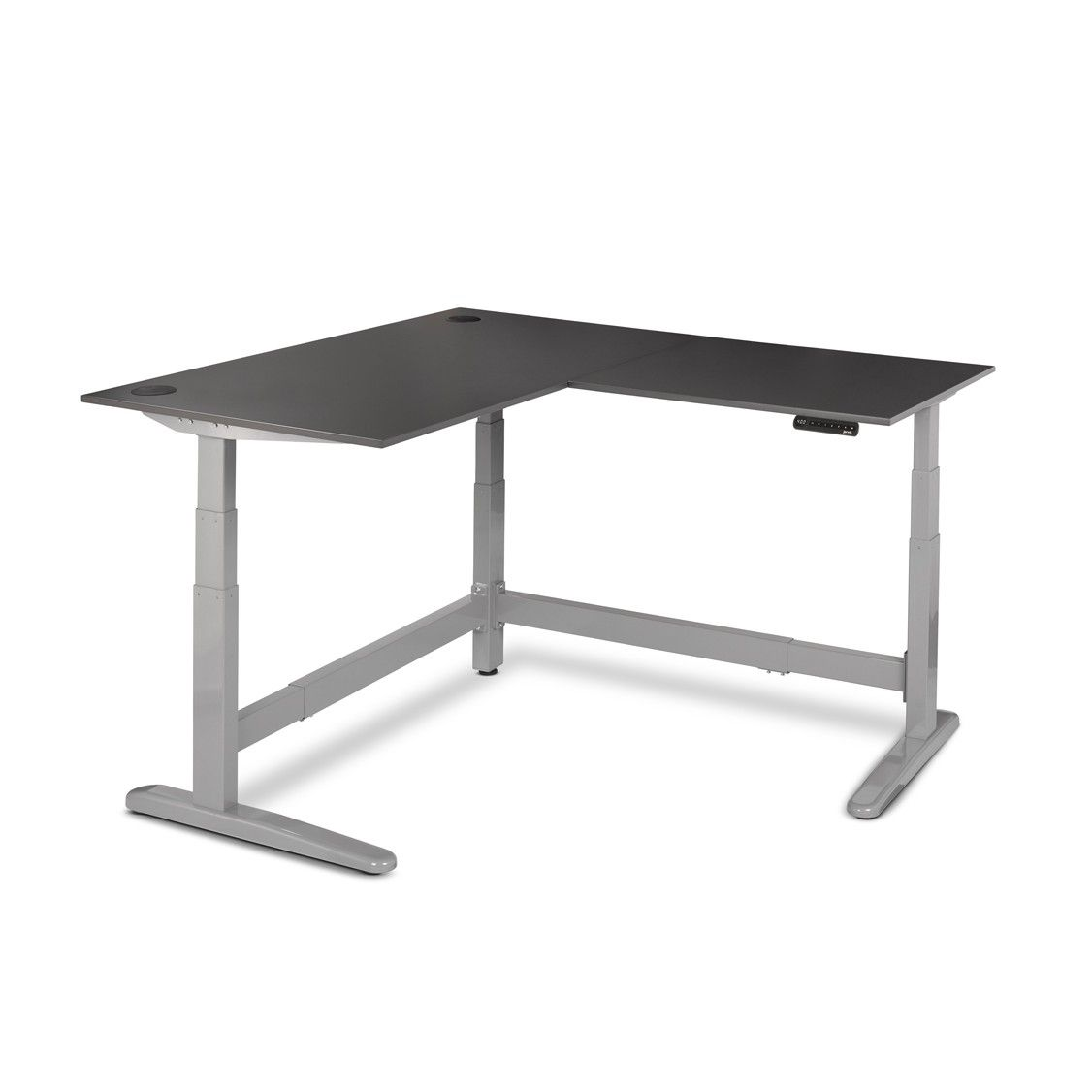 Jarvis3 Powdercoat L Shaped Standing Desk Fully Fully Catalog
