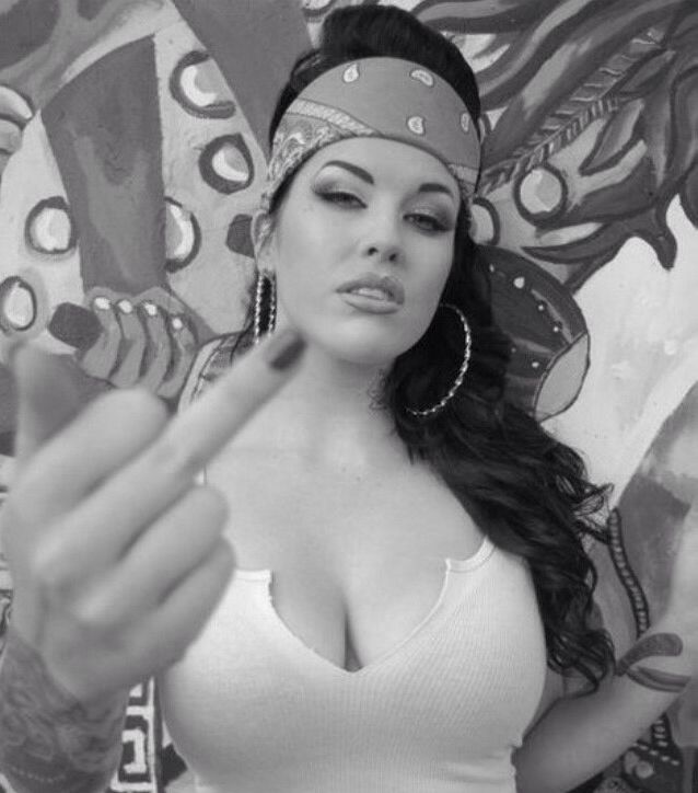 Latina gangsta girls nude #1