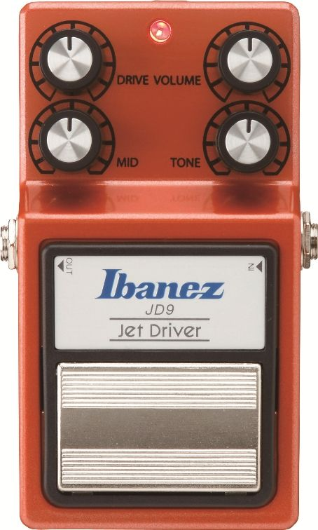 Ibanez Jd9 The Ibanez Jd9 Produces A Unique Sound Reminiscent Of A High Grade Handcrafted Effects Peda Distortion Pedal Guitar Effects Pedals Guitar Effects
