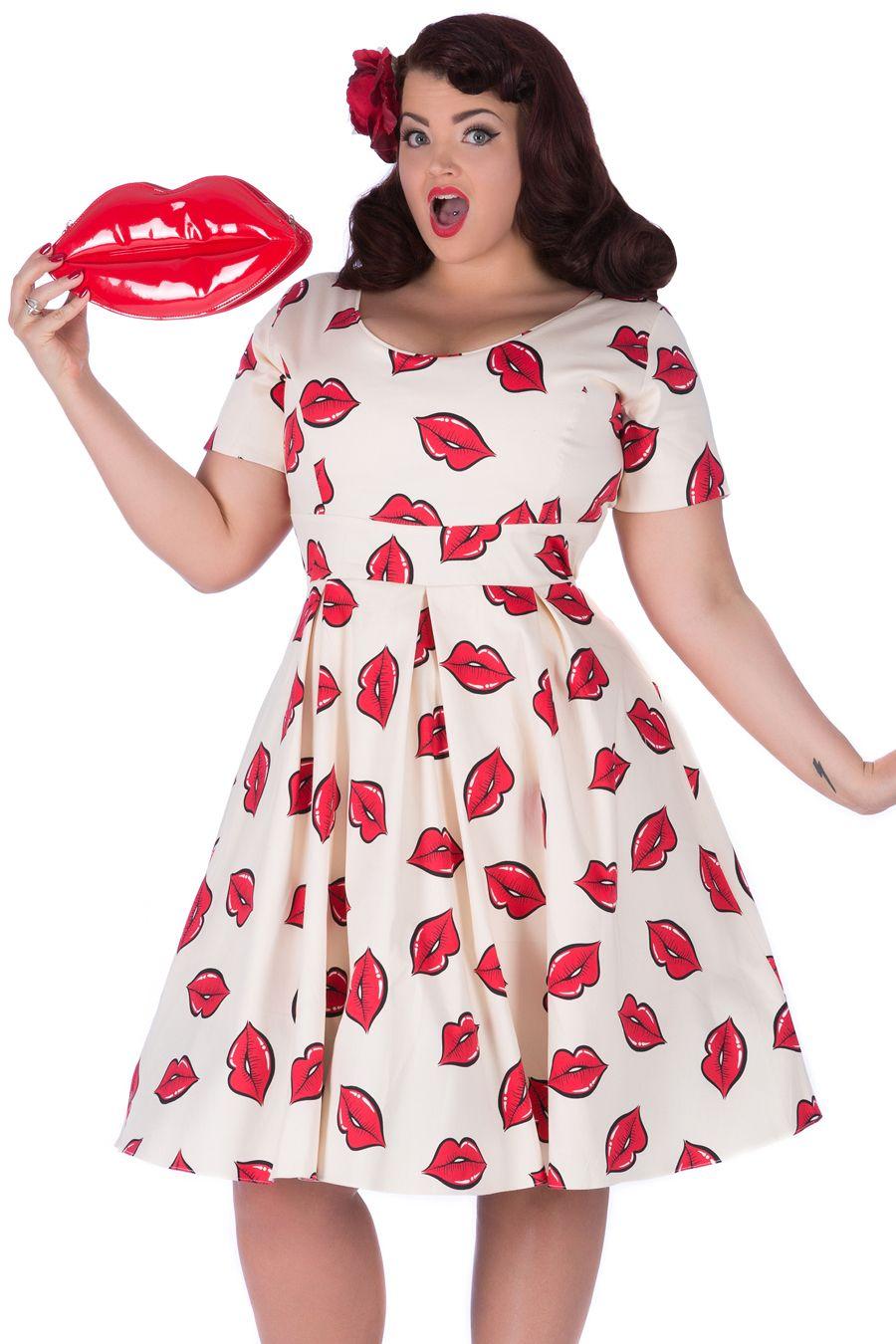 Size 18 50s style dress
