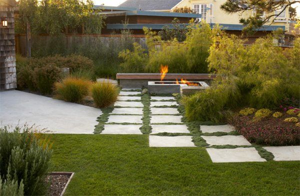20 landscaping ideas using grass plants - Garden Design Using Grasses