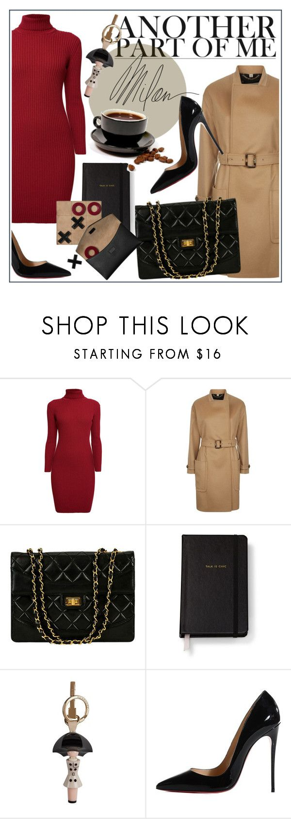 """Office Style"" by bombaysapphire ❤ liked on Polyvore featuring Rumour London, Burberry, Kate Spade, Forum, Christian Louboutin, MAC Cosmetics, Winter, Chanel, christianlouboutin and officestyle"