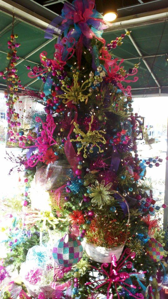hot pink turquoise lime green christmas tree ideas pinterest pink turquoise christmas. Black Bedroom Furniture Sets. Home Design Ideas