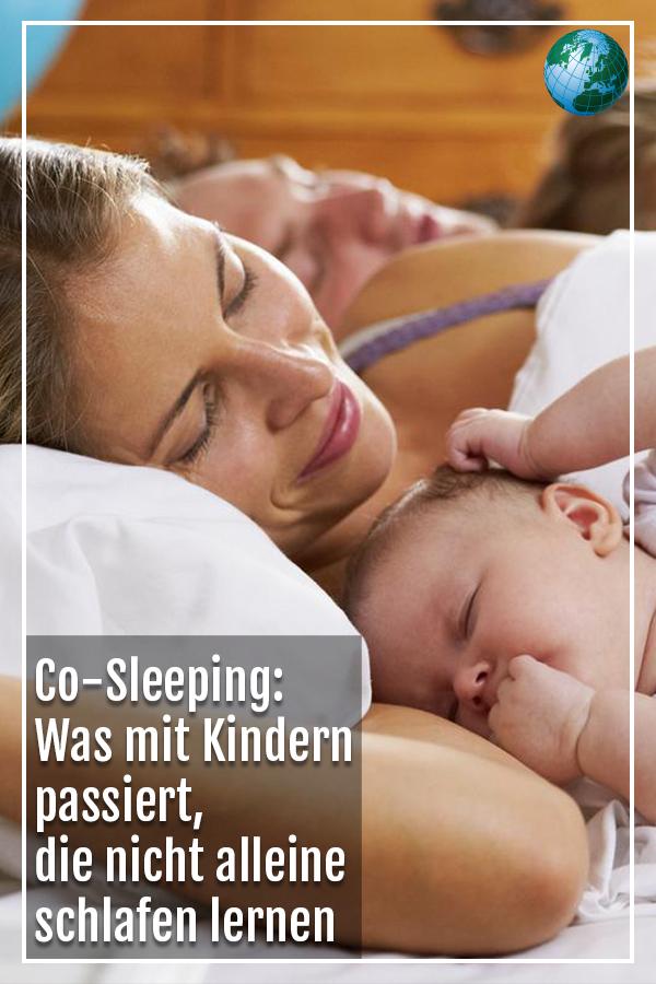 Co-Sleeping: Was mit Kindern passiert, die nicht alleine schlafen lernen