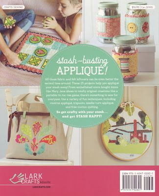 {Book Review} Stash Happy Applique
