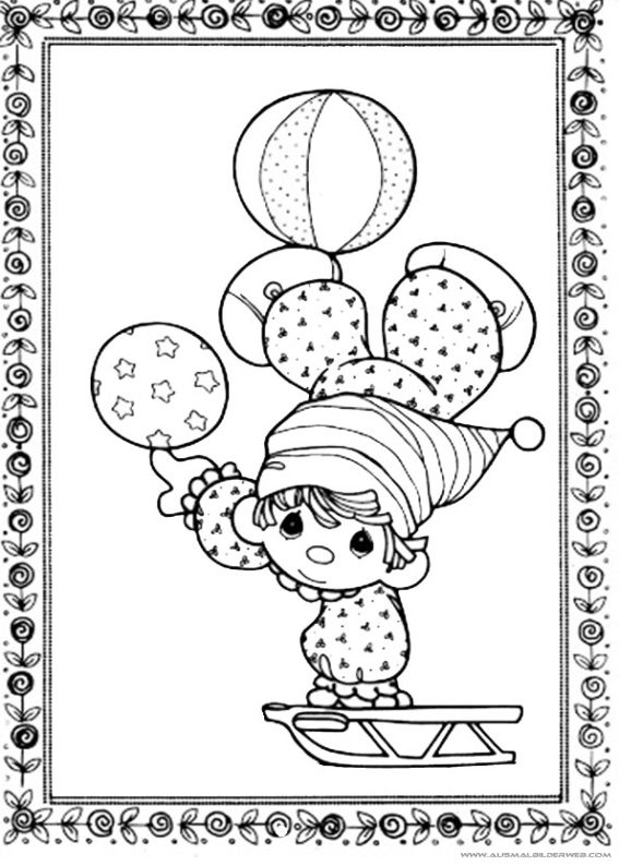 Ausmaibilder Clown_8.jpg   Ausmalbilder Clown   Pinterest ...