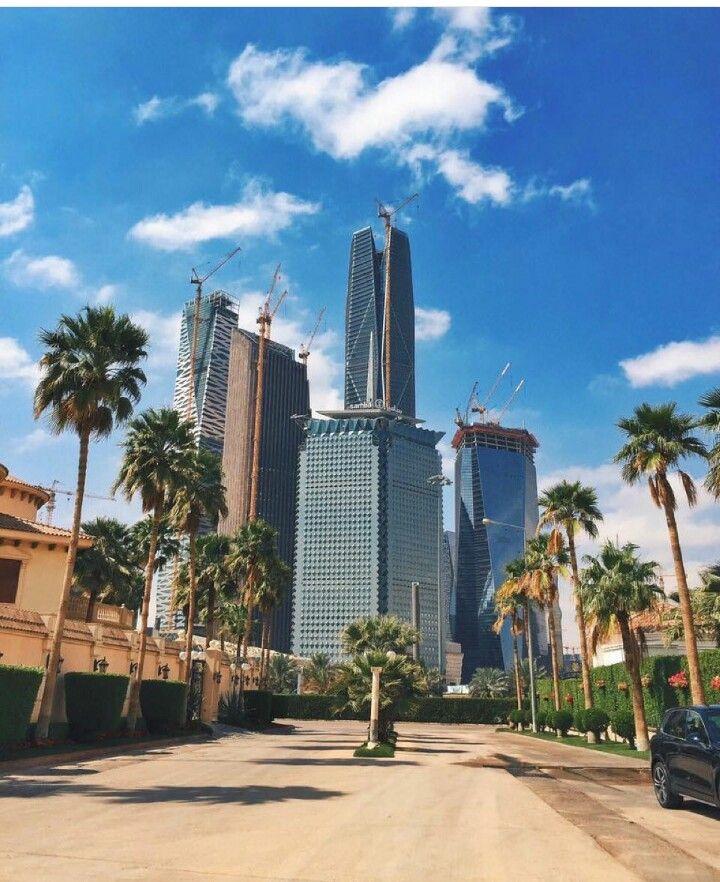 أبراج مركز الملك عبدالله المالي Riyadh Saudi Arabia Nature Photography Photo Art