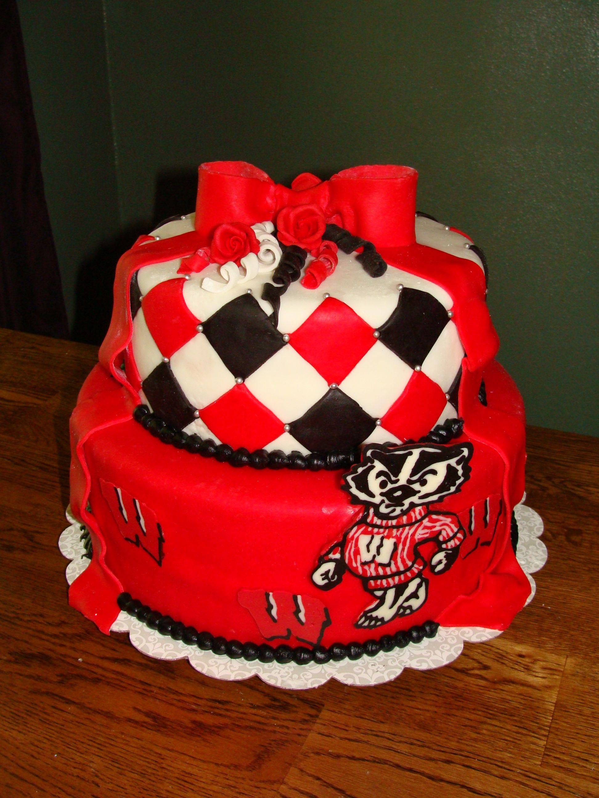 Wisconsin Badgers Cake Cake Decorating Community Cakes We Bake