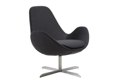 Egg Chair Stof.Ilva Produktinformation Lav Laenestol I Formstobt Koldskum Og