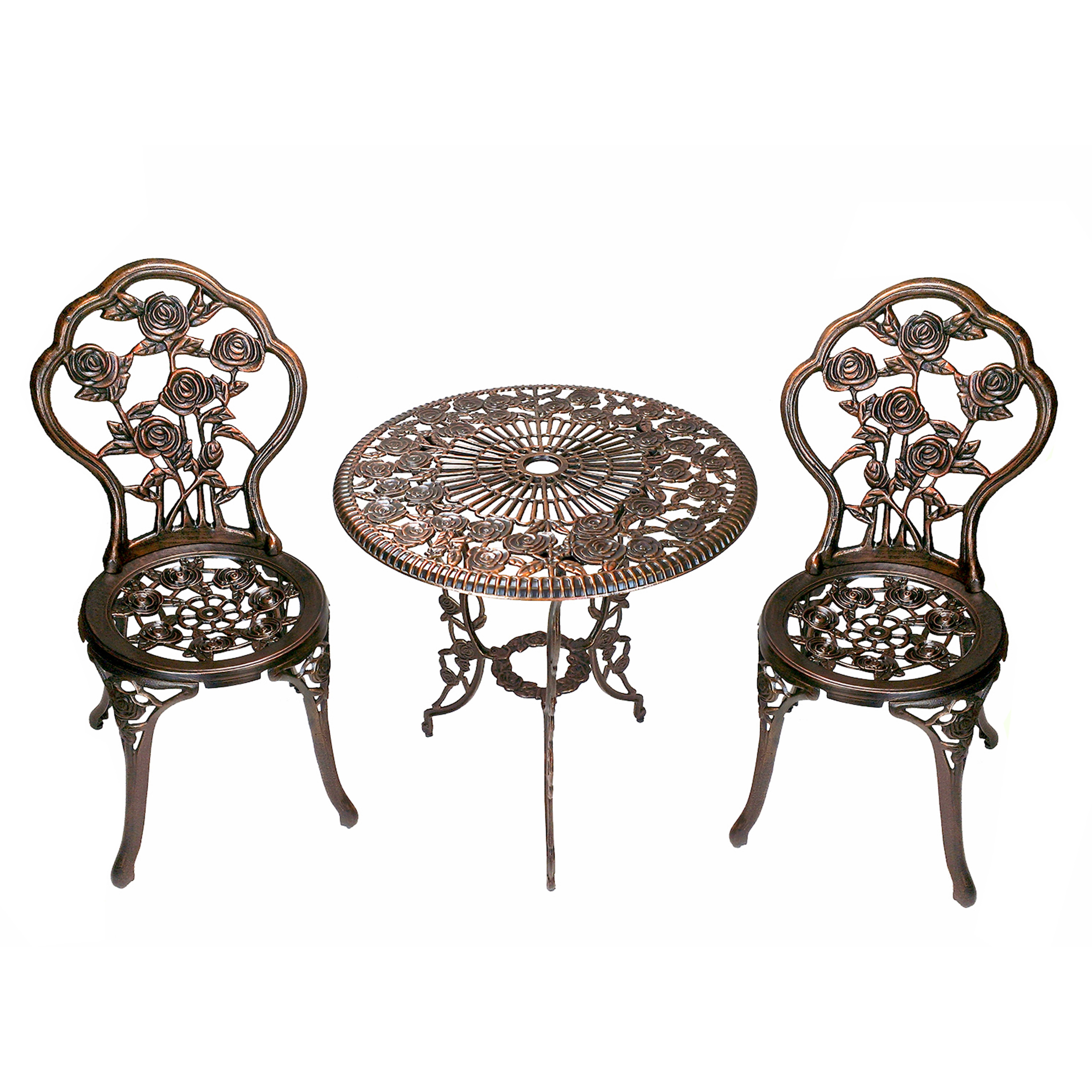 Youu0027ll Love The Rose 3 Piece Bistro Set At Wayfair   Great Deals On