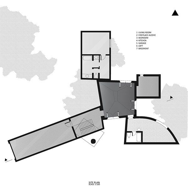 Winton Guest House Project On Student Show Guest House Home Projects Architectural Inspiration