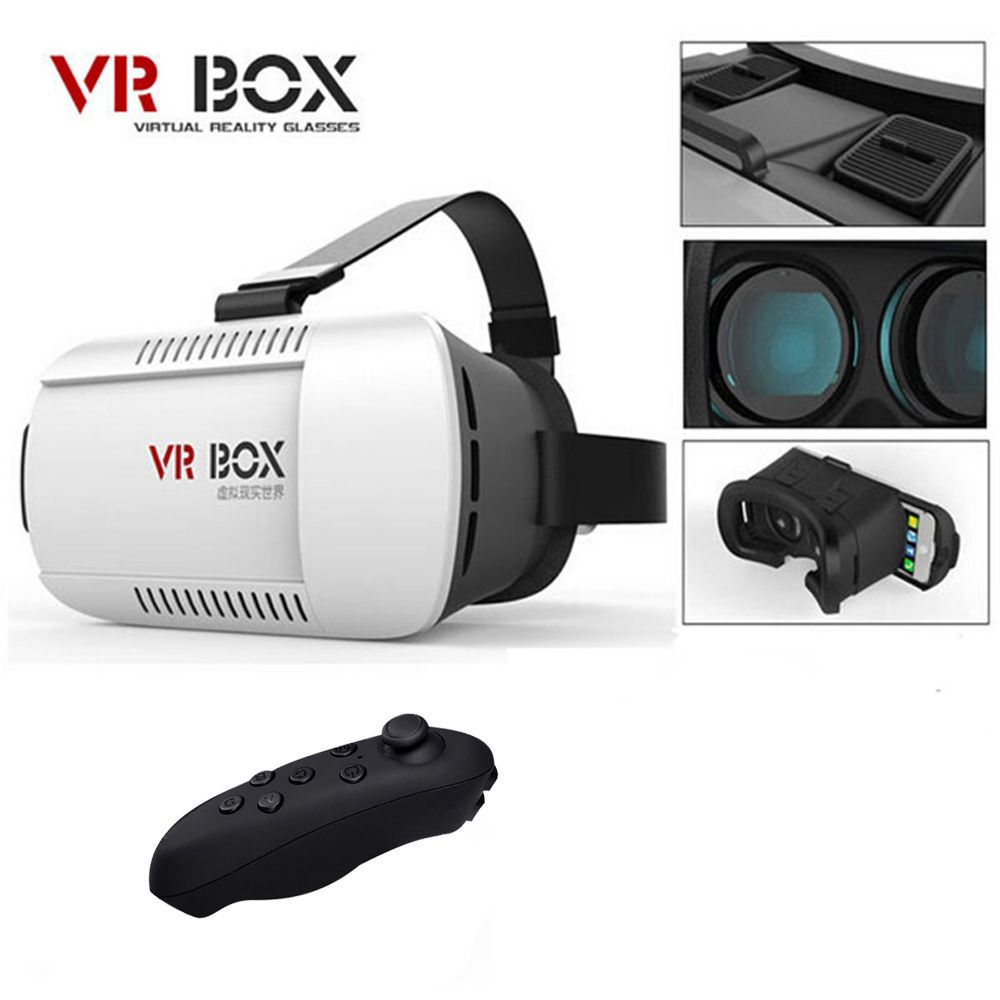c22bcb14c09 Kaufen VR Box Vrbox Casque Video 3 D Gerceklik Google Karton Virtual Reality  Brille 3D VR Gläser Smartphone Helm Headset Objektiv 3D