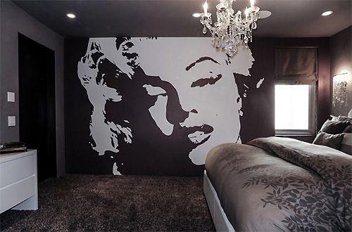 Marylin Marilyn Monroe Bedroom Wallpaper Bedroom Marilyn Monroe Wallpaper