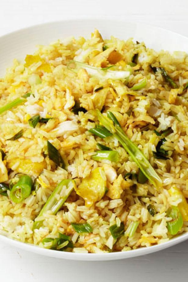 Get Food Network Kitchens Curry Fried Rice Recipe From Food Network