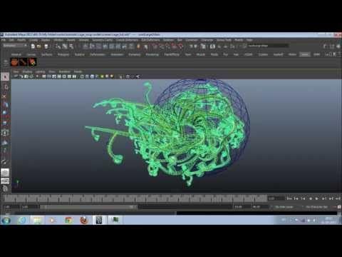 Maya tutorial soup node the cage mesh - YouTube