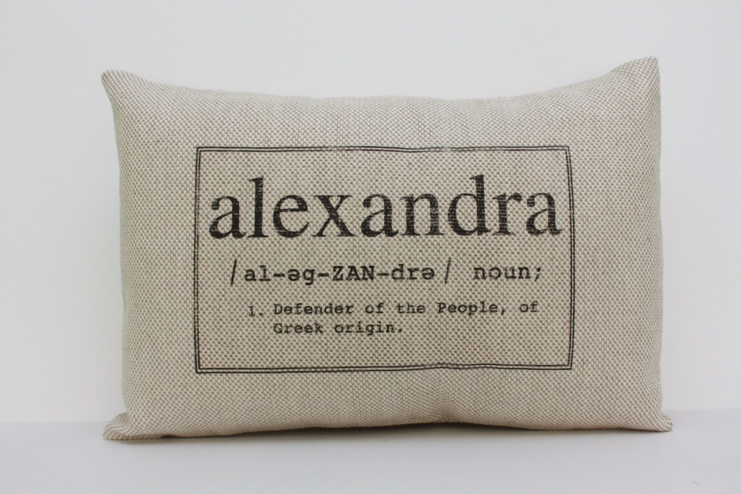 Baby gift baby pillow baby shower gift name definition pillow personalized pillow baby name pillow custom pillow newborn gift the negle Image collections